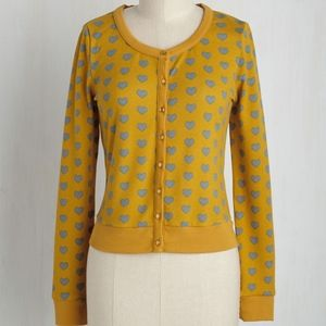 New Modcloth Banned Styled to the Cover Cardigan